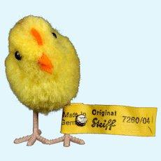 Teeny Tiny Steiff Wool Miniature Pom Pom Baby Chick Chicken Bird All ID