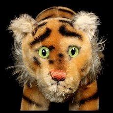Gorgeous Rare SWEEEEEEET Big Brother Steiff Tiger Cub Baby Jungtiger Wild Cat
