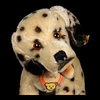 Sweet Rarest of the Rare and Earliest of the Early Middle Brother Steiff Dally Dalmatian Puppy Dog All ID