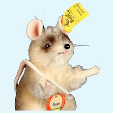 Tiny Adorable Begging Steiff Pieps Mouse All ID