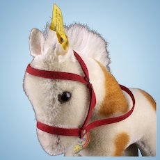 Rare Big Brother Steiff Pinto Pony All ID