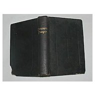 """The Book of Common Prayer"" Pocket Size Circa 1898"