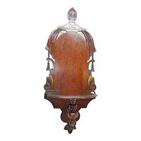 Antique Hanging Shelf Circa 1880's