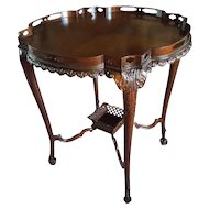 Antique Mahogany Center Table