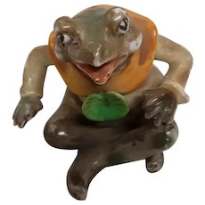 Vintage Occupied Japan Sitting Frog