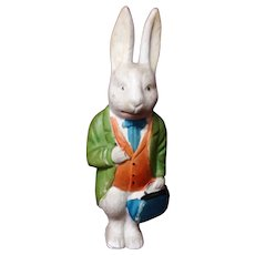 Antique Bunny Rabbit Doctor Figurine
