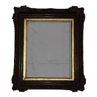 Antique Walnut Picture Frame  Circa 1890's