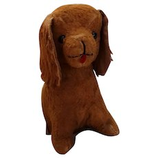 Vintage Toy Stuffed Dog Toy Doll Companion  Circa 1940's