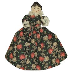 """Vintage 5"""" Clothes Pin Doll"""