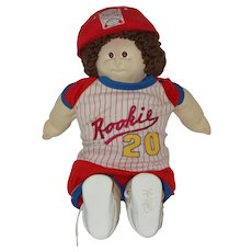 "Vintage 23"" Cabbage Patch Boy Doll 1978-1983"