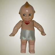 "Vintage 11"" Composition Rose O.Neill Kewpie Doll  Circa 1946"