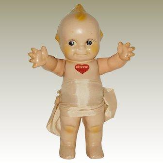 "Vintage 11 1/2"" Composition Rose O""Neill Kewpi Doll Circa 1940"