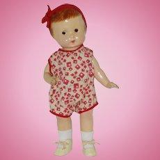 "Vintage 13"" Composition Doll Circa 1929"