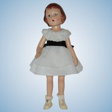 "Vintage 14"" Composition Wendy Ann Doll Madame Alexander 1935-1948"