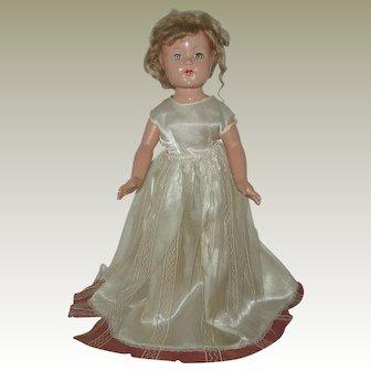 "21"" Composition  Anne Shirley Doll Circa 1936-1940"
