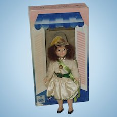 "Vintage 7"" Storybook Type Doll In Box ""A Marcie Doll"" Circa 1945"