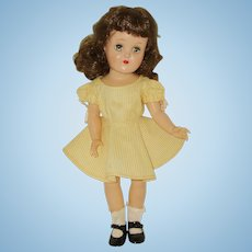 "Vintage 14""  Ideal Toni Doll Circa 1949"