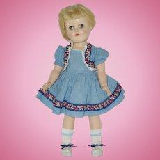 "16""  Ideal Toni Doll Circa 1949"