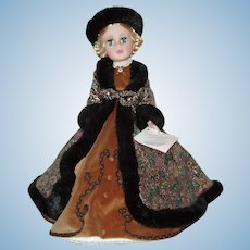 "1989/1990 21"" Madame Alexander ""Natasha"" Portrait Doll MIB"