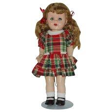 """Vintage 16"""" Ideal Saucy Walker Doll"""