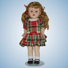 "Vintage 16"" Ideal Saucy Walker Doll"