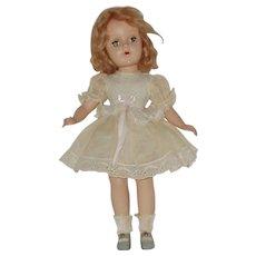 "15"" Hard Plastic Sweet Sue Doll Circa 1948"