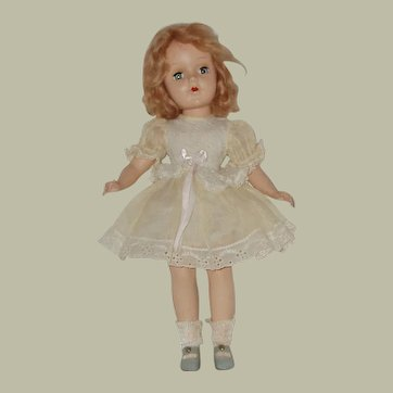 "15"" Hard Plastic Sweet Sue Doll Circa 1948"