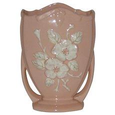 "8 1/2"" Hull Pottery Vase R15  Rosella  1946"