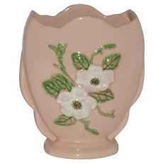 "6 1/2"" Hull Pottery Vase  R5  Rosella  1946"