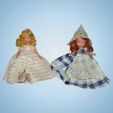"2 5/1/2"" Bisque Nancy Ann Story Book dolls"