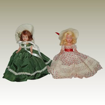 "2 61/2"" Nancy Ann Story Book Dolls"