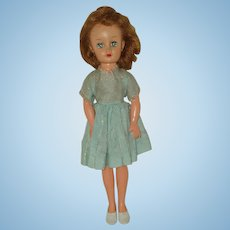 "All Original 14"" Vinyl Lady Doll Circa 1955"