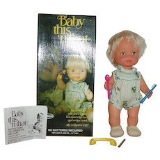 1976 All Original Baby This N That In Box