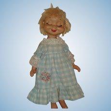 """Vintage 20"""" Whimsie Doll"""