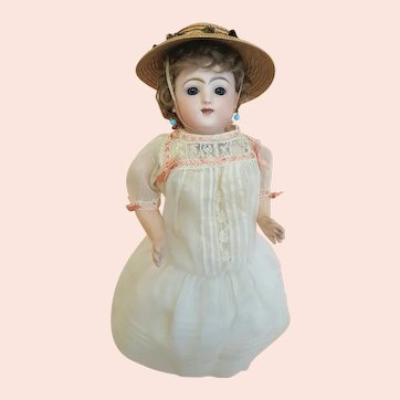 Very Sweet Antique French Steiner Gigoteur, 17.5 inches Tall, c.1880s