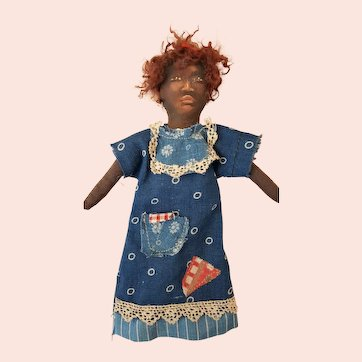 Johnna Art Doll by Barbara Buysse - 6 inches Tall, Marked Body All Original