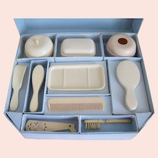 Antique Doll Toilette Set for Your Dolly or Bebe'
