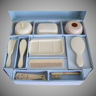 Antique Doll Toilet Set for Your Dolly or Bebe