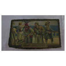1920's Whitman's Pleasure Island, Pirate Theme Chocolate Box