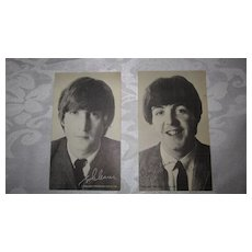 Lennon, McCartney 1964 Beatles (USA) Ltd. Post Cards