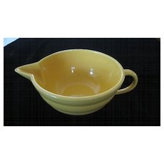 Bauer Glossy Pastel Kitchenware Batter Bowl, Yellow