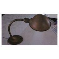 Vintage Art Deco Goose Neck Desk Lamp