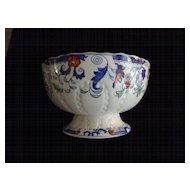 """Antique Imari Footed Bowl, 9 1/2"""" X  5 1/2"""""""
