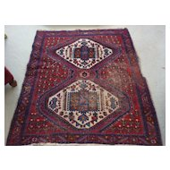 """Persian Rug, Hand Knotted, 48"""" X 60"""""""