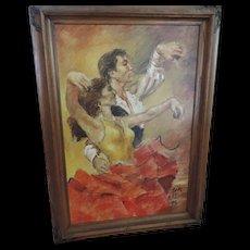 Flamenco Dancers, Clark Allen, Self Portrait, 1986