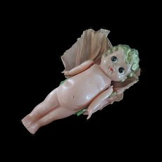 Japanese Carnival Celluloid Angel Doll, 10""