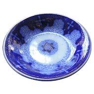 """Flow Blue Persian Moss 5"""" Fruit Bowls, 7 Pieces"""