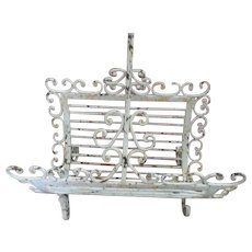 Heavy Wrought Iron Basket/Carrier