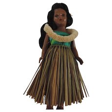 Vintage Hula Girl Doll