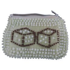 Fabulous Las Vegas Beaded Coin Purse